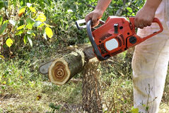 Chainsaw Stock Photography