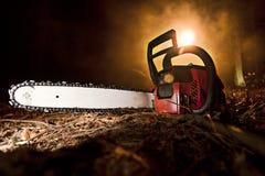 Chainsaw arkivfoto