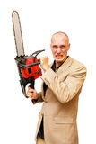 Chainsaw 4 Royalty Free Stock Images