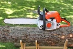 chainsaw imagem de stock