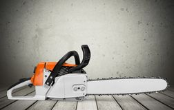 chainsaw Obraz Royalty Free