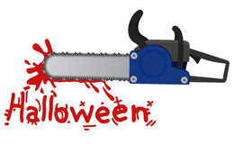 Chainsaw halloween Stock Photos