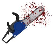 Chainsaw icon Stock Images