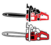 Chainsaw Vector Royalty Free Stock Photography