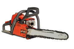 Chainsaw after working Stock Images