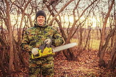 Chainsaw. Stock Images