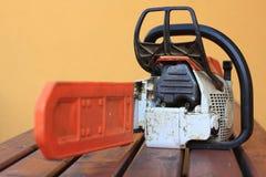 chainsaws Arkivfoton