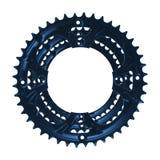 Chainwheel изолировало на белизне стоковые изображения rf