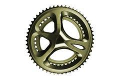 Chainwheel odizolowywał na bielu ilustracji