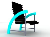 Chair. An illustration of a  single  chair Stock Photography