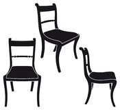 Chair. The same chair in three different sights Stock Image