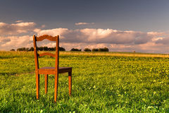The chair Royalty Free Stock Photography