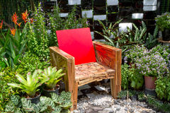 Free Chair And Garden Stock Photography - 21457832
