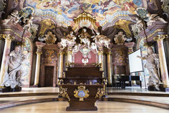 Chair of the assembly hall Leopoldina Royalty Free Stock Photography
