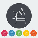 Chair for baby Stock Image