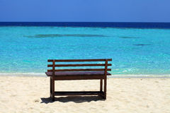 Beach of tropical island Royalty Free Stock Photos