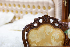 Chair in the bedroom Stock Photography