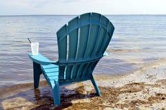 Chair on Ben T Davis Beach Royalty Free Stock Photos