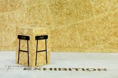 Chair box Stock Photo
