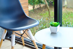 Chair in the cafe. Stock Photography