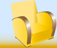 The chair called easy chair Royalty Free Stock Photos