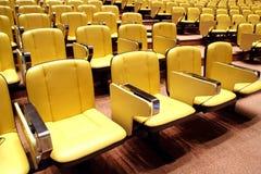 Chair cinema seats Stock Image