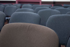 Chair in classroom. Empty chairs in the classroom Royalty Free Stock Photos