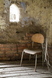 Chair and cobweb Stock Photography