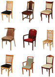 Chair collection Royalty Free Stock Photo
