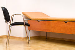Chair and couch. In the doctor's consulting room Royalty Free Stock Photography