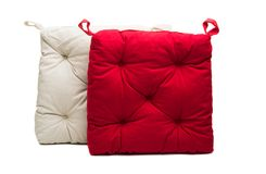 chair cushion puffy isolated royalty free stock photos