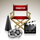 Chair de director Fotografía de archivo libre de regalías