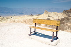 Chair at death valley Stock Image