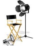 Chair del Direttore Fotografia Stock