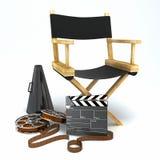 Chair del Direttore Fotografie Stock