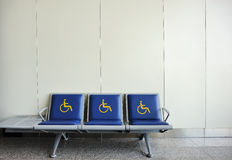 Chair for disabled people Royalty Free Stock Photography