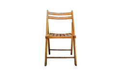 Chair. Equipment isolated white sit royalty free stock photography