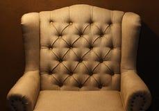 Chair-fabric arm chair Stock Photos