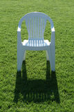 Chair on grass Stock Photography