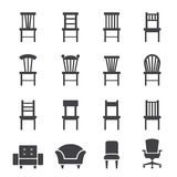 Chair icon Royalty Free Stock Photo