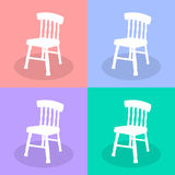 Chair icons set 2 great for any use. Vector EPS10. Stock Photos