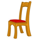 Chair isolated illustration Stock Image