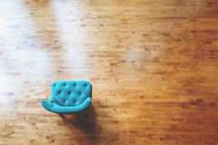 Chair in a large luxury home Stock Image