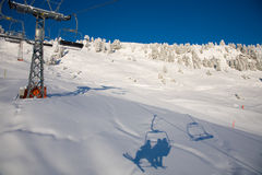 Chair lift Stock Images
