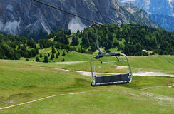 Chair lift Royalty Free Stock Image