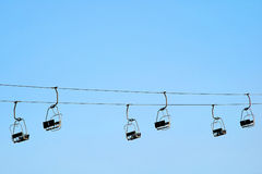 Chair-lift Royalty Free Stock Image