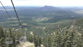 Chair lift Arizona stock video footage