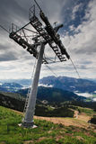 Chair Lift In Austria Stock Photography
