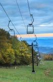 Chair Lift Beech Mountain North Carolina Stock Photos