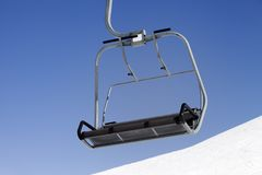 Chair-lift close-up view Stock Photos